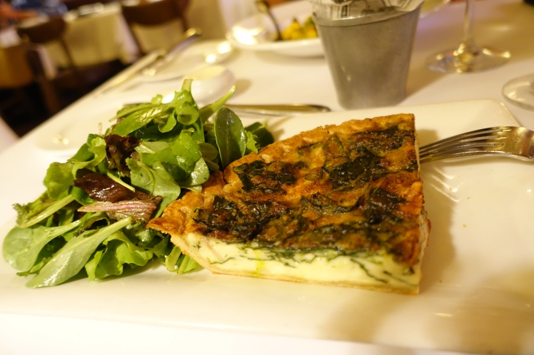Cafe Claude Quiche